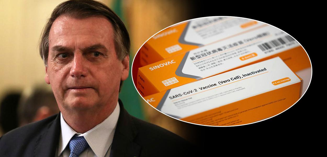Jair Bolsonaro e a vacina Coronavac