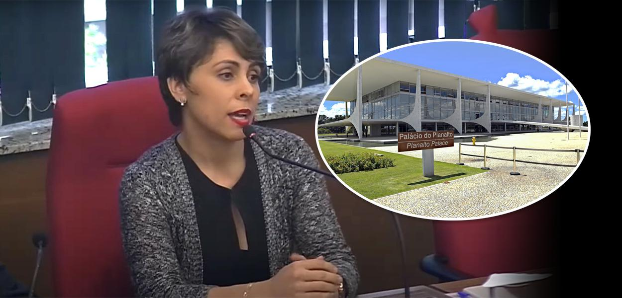 Delegada Denisse Ribeiro