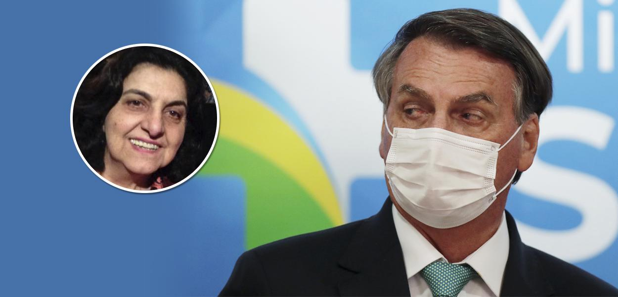 Rosângela Bittar e Jair Bolsonaro