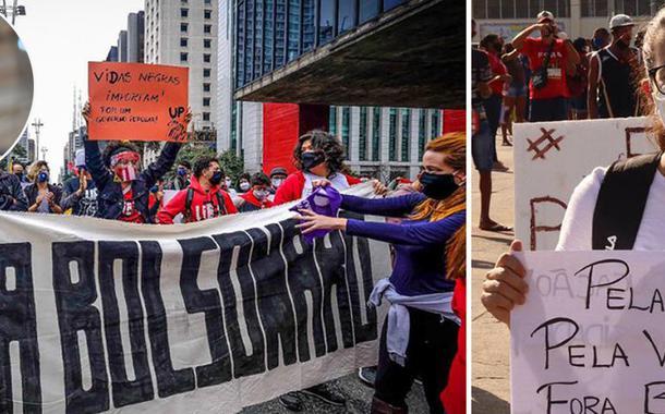Ex-presidente Lula e protestos contra Jair Bolsonaro