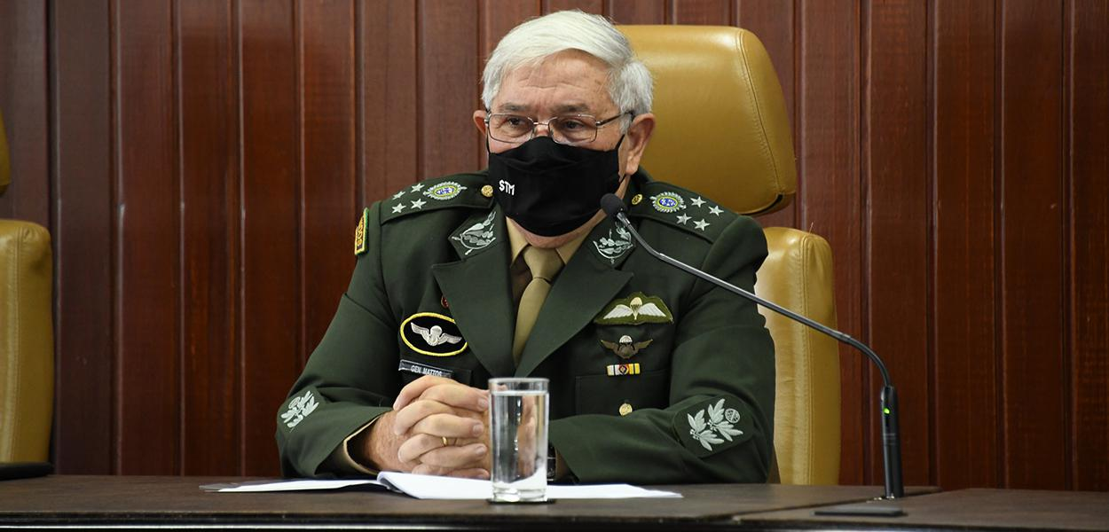 General Luis Carlos Gomes Mattos, presidente do STM