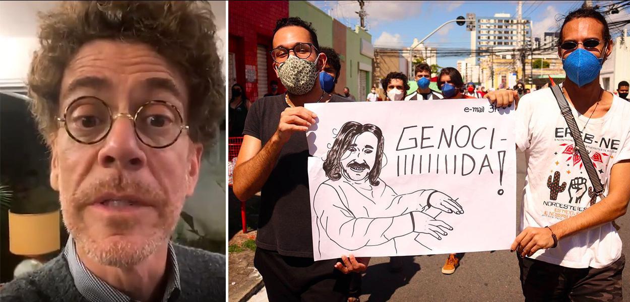 """Nando Reis é """"Fora Bolsonaro"""""""