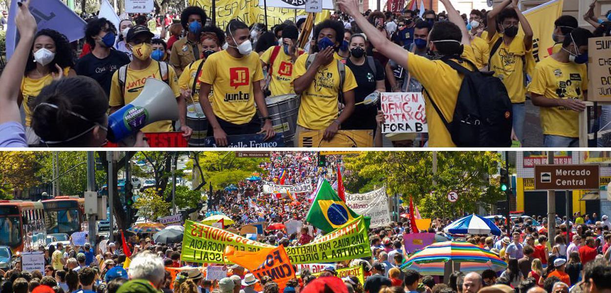 Manifestação em BH