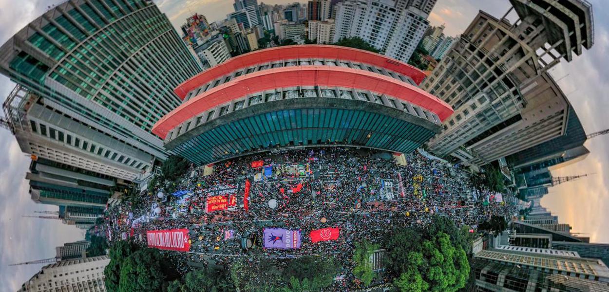 Protesto na Paulista