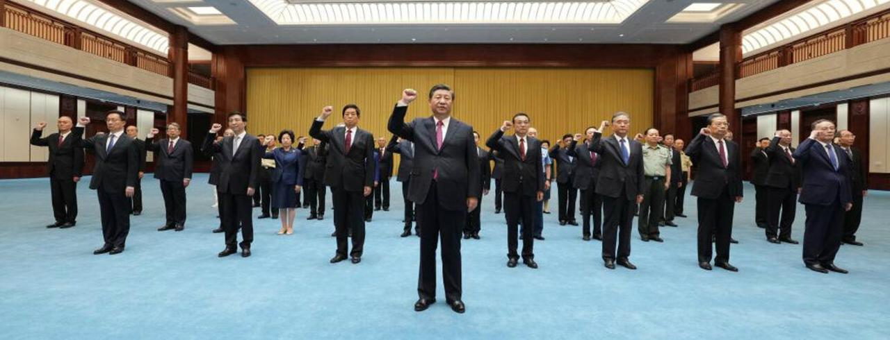 Xi Jinping e demais líderes do PCCh reafirmam juramento de fidelidade à causa do Partido