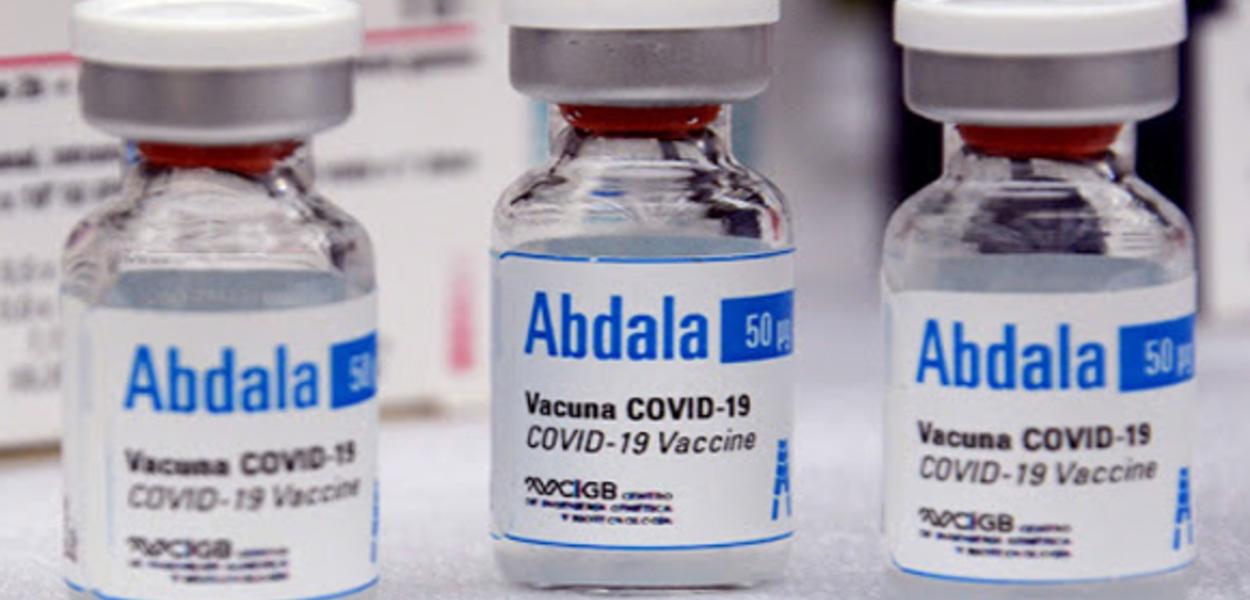 Vacina cubana Abdala chega à Venezuela