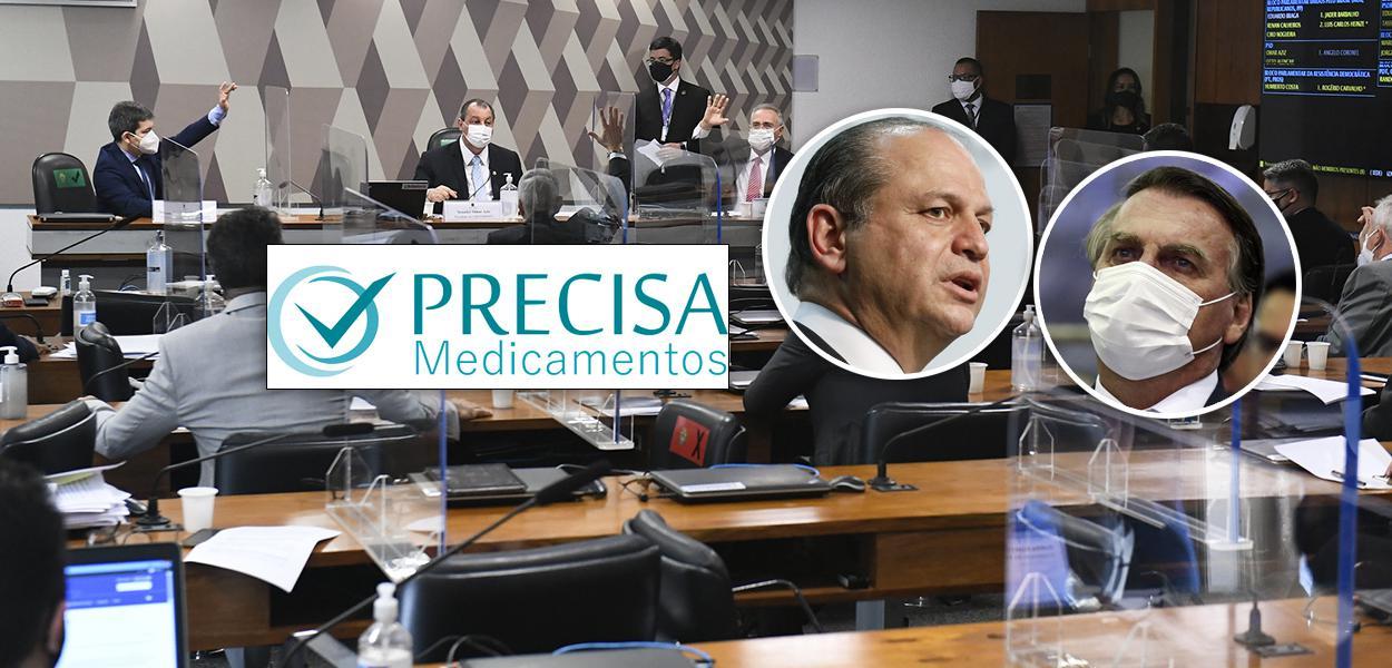 CPI da Pandemia, Ricardo Barros e Jair Bolsonaro