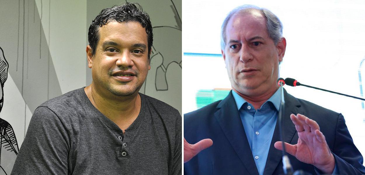 Miguel do Rosário e Ciro Gomes