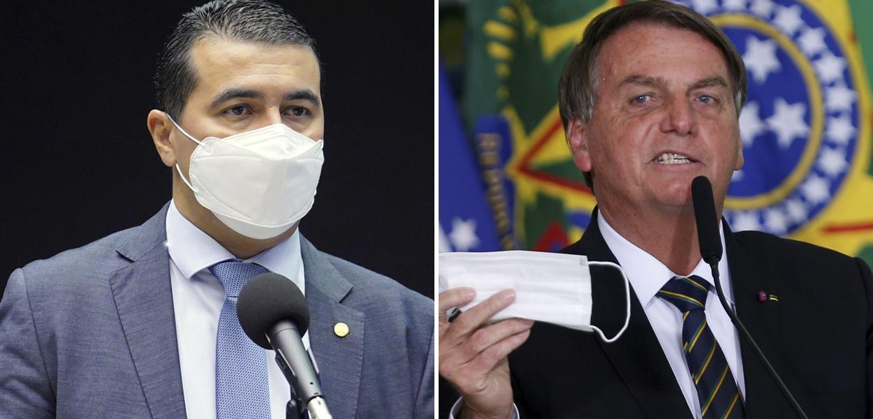 Luis Miranda e Jair Bolsonaro