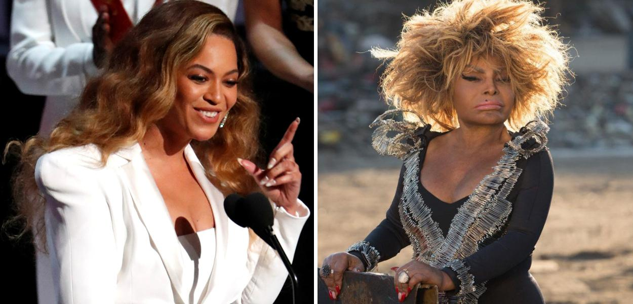 Beyoncé e Elza Soares