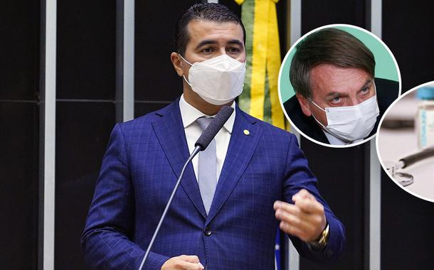Luis Miranda e Jair Bolsonaro / Covaxin
