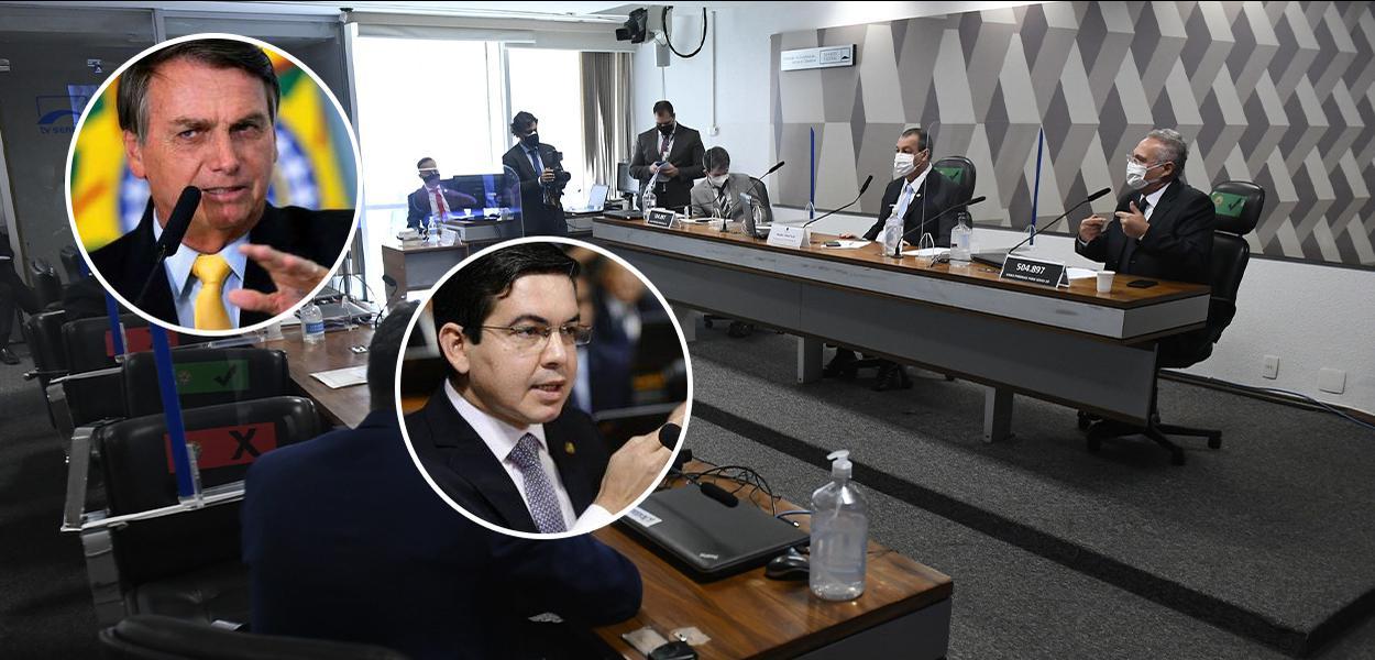 Bolsonaro, Randolfe, CPI