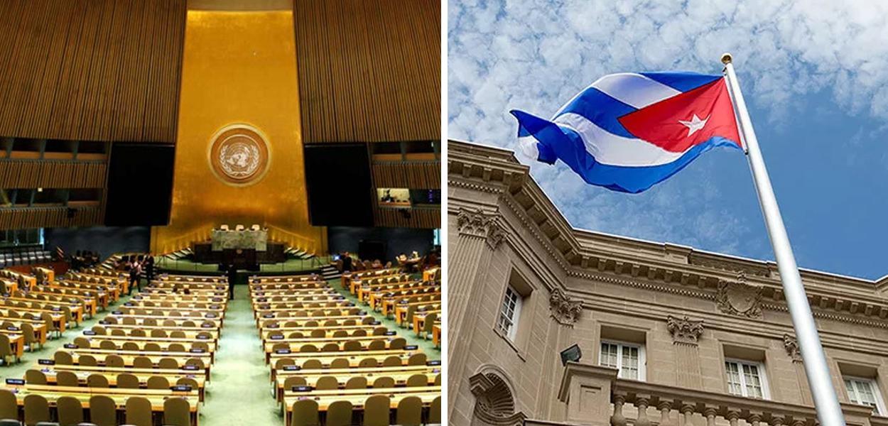 ONU condena embargo dos EUA a Cuba pela 29ª vez