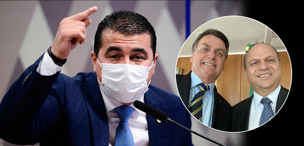 Luis Miranda, Jair Bolsonaro e Ricardo Barros