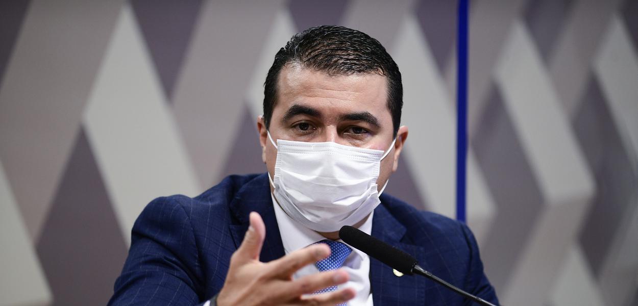 Luis Miranda em depoimento à CPI da Covid