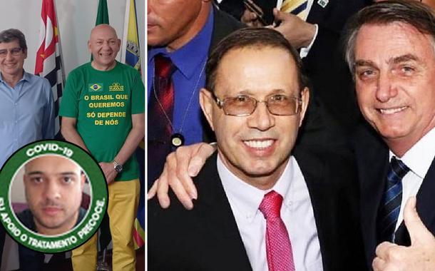 Prefeito de Porto Feliz, Luciano Hang, Wizard, Bolsonaro e o vereador Saulo