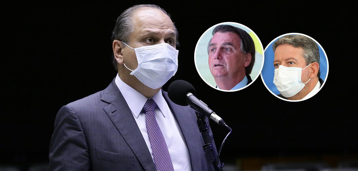 Ricardo Barros, Bolsonaro e Arthur Lira