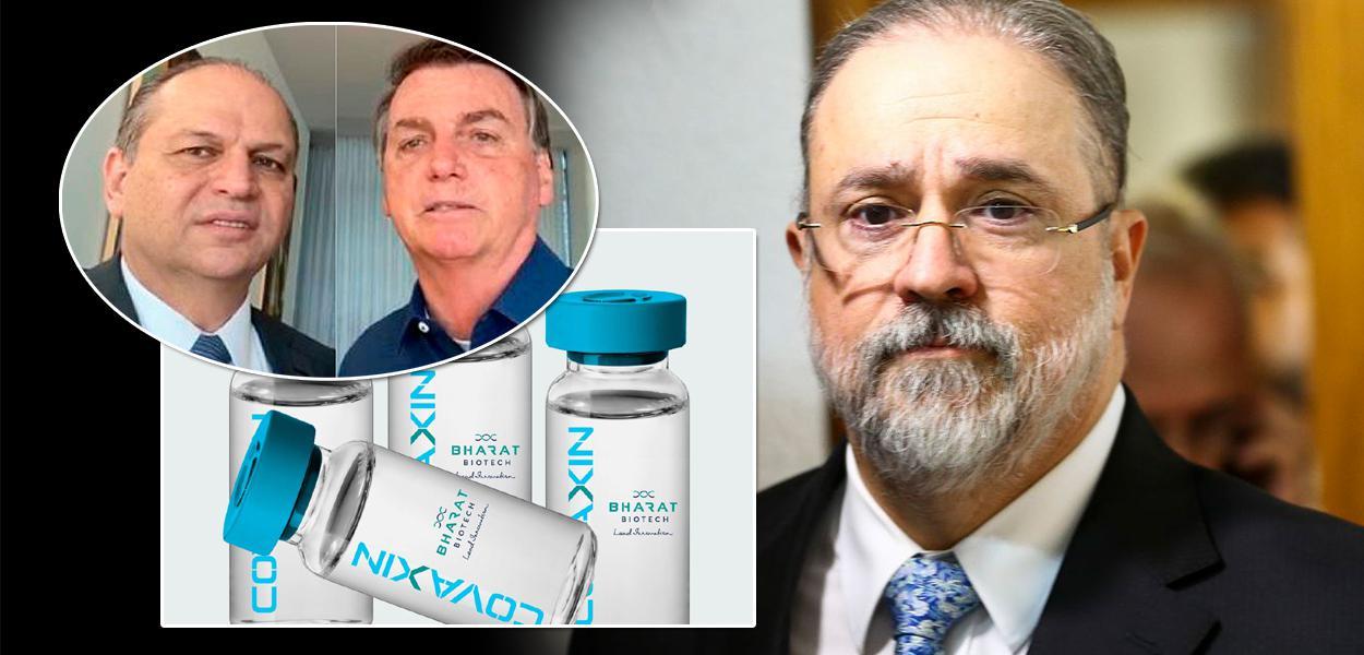 Ricardo Barros, Jair Bolsonaro e Augusto Aras