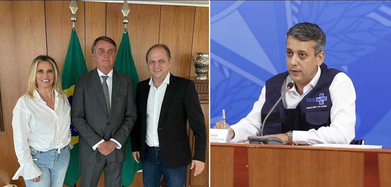 Cida Borghetti, Bolsonaro, Ricardo Barros e Roberto Dias