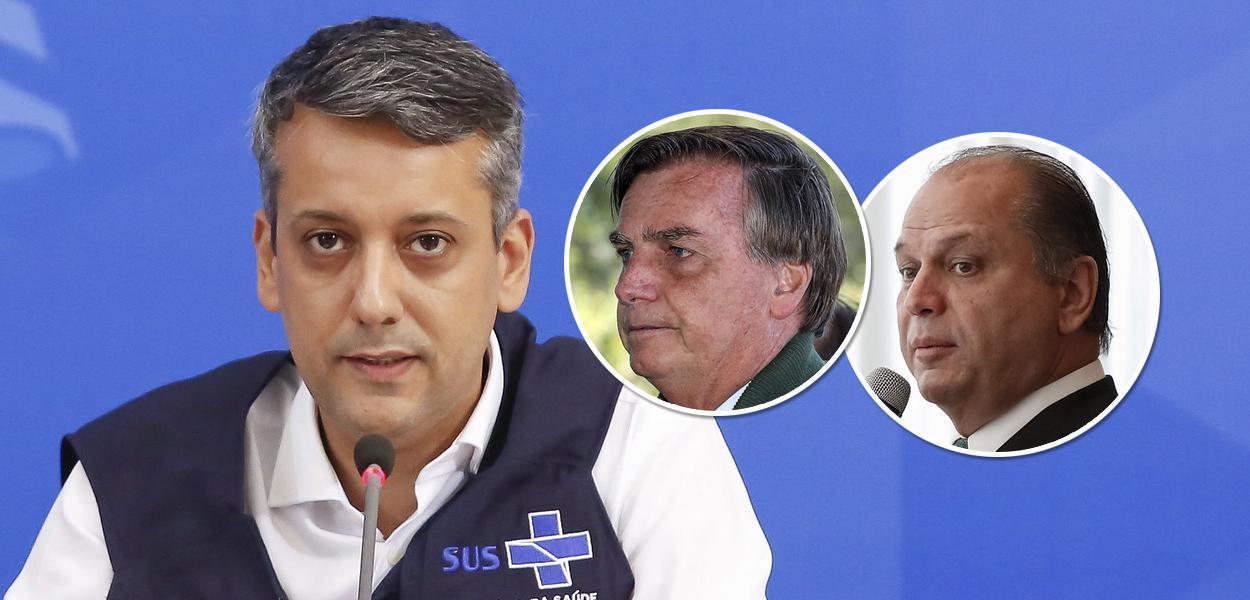Roberto Dias, Bolsonaro e Ricardo Barros