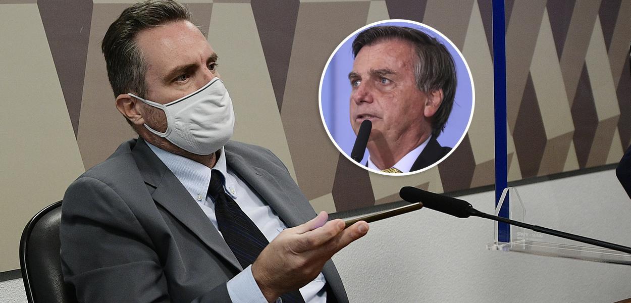 Dominguetti e Bolsonaro