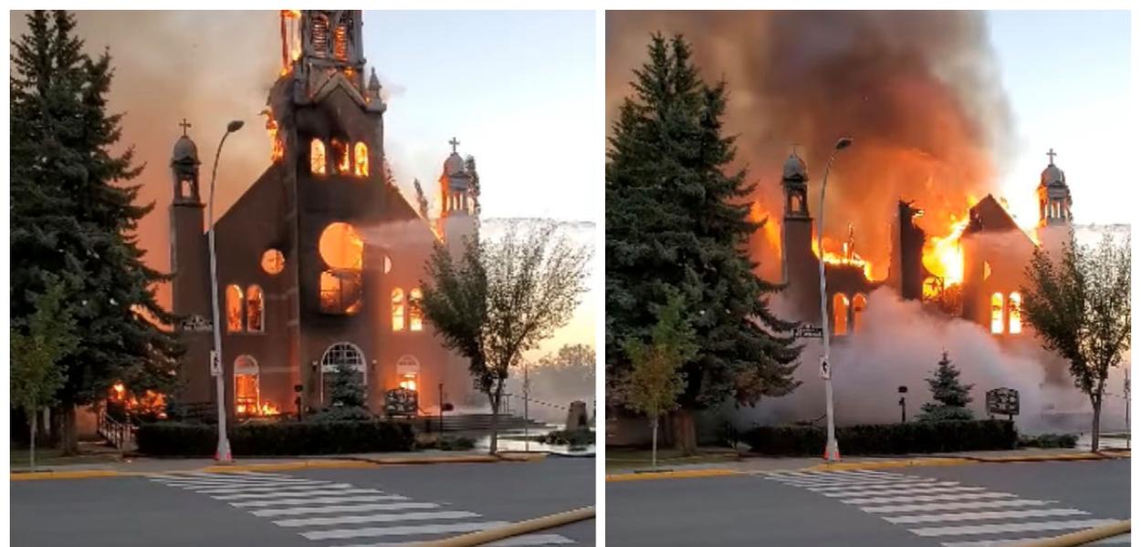 Descoberta de novas covas clandestinas indígenas aumenta revolta no Canadá  e igrejas são incendiadas - Brasil 247