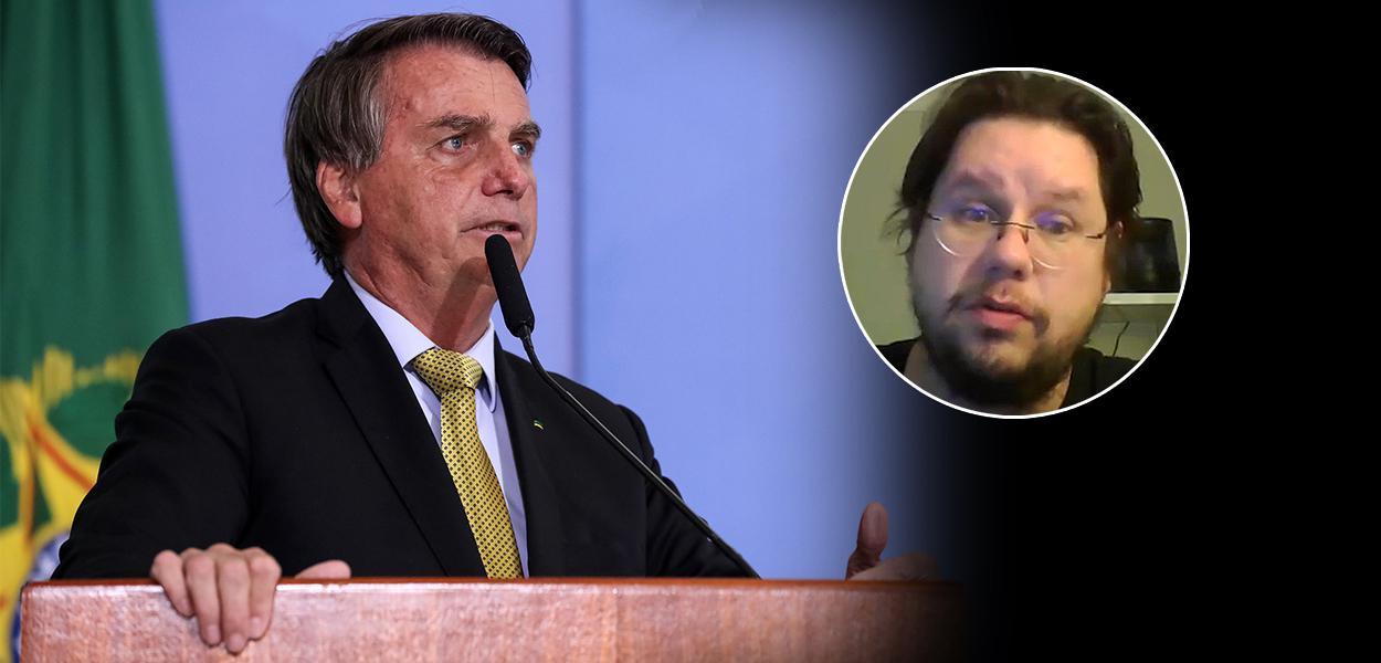 Jair Bolsonaro e Fernando Horta