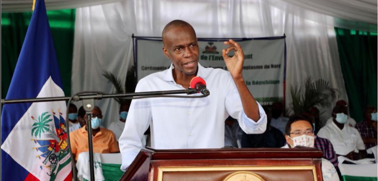 Presidente do Haiti, Jovenel Moïse