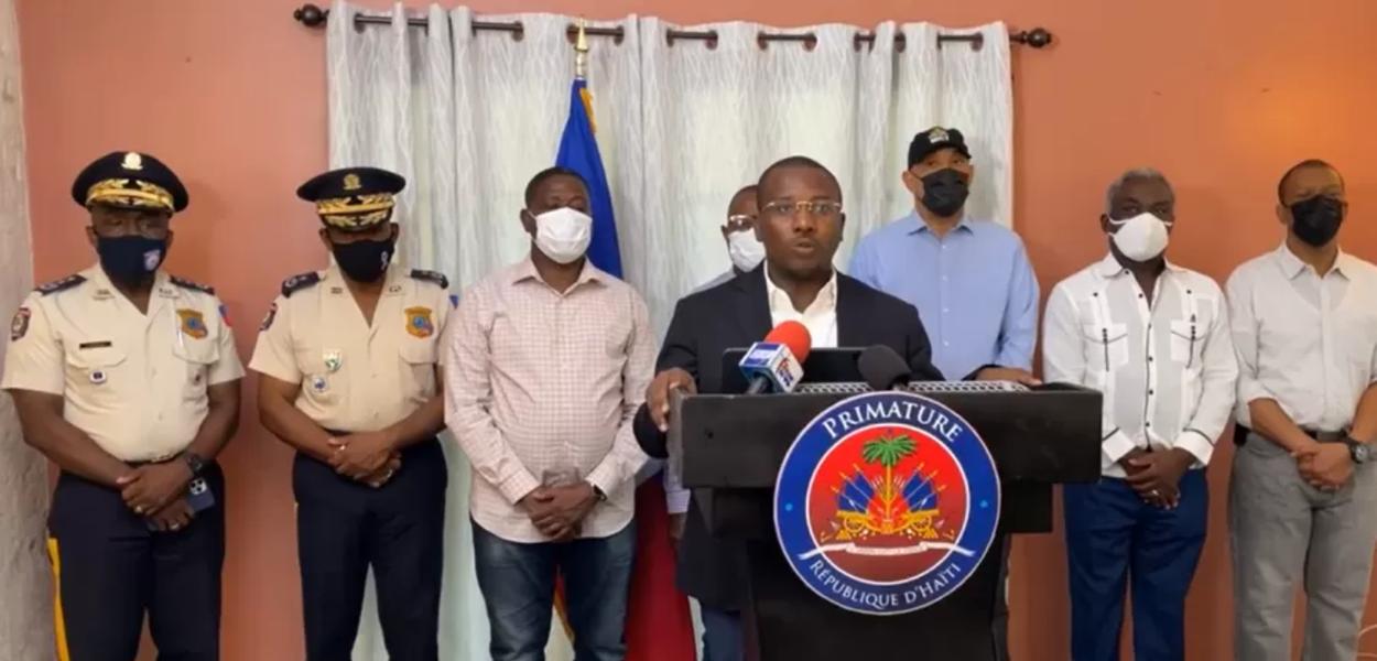 Primeiro-Ministro da República do Haiti, Claude Joseph