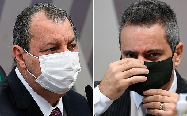 Ex-secretário-executivo do Ministério da Saúde Antônio Élcio Franco Filho