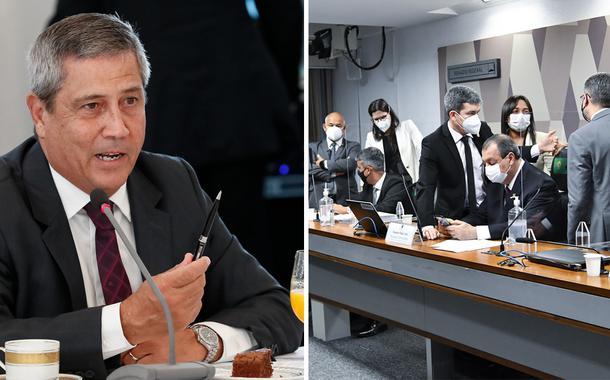 Ministro Braga Netto e a CPI da Covid