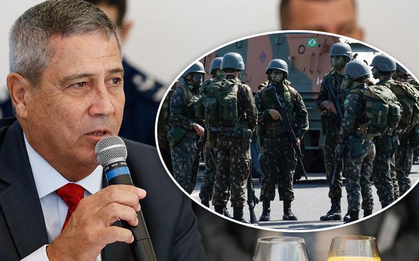 Ministro Braga Netto e as Forças Armadas