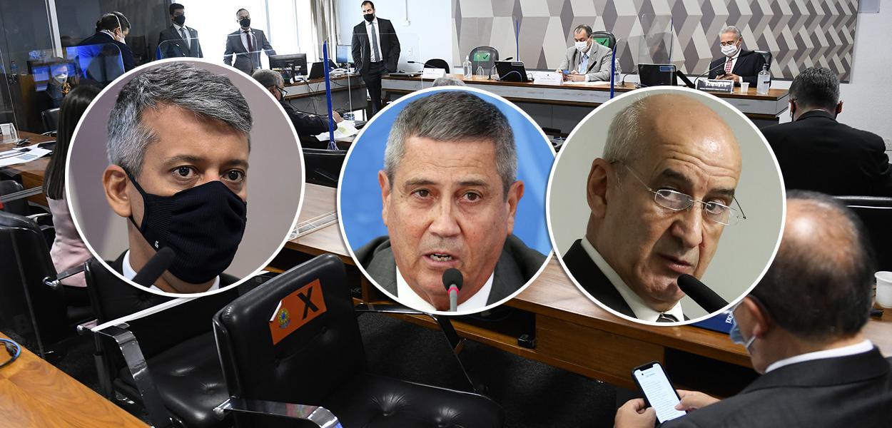 Roberto Dias informou a CPI que Braga Netto e Ramos pressionaram pela compra  das vacinas suspeitas - Brasil 247