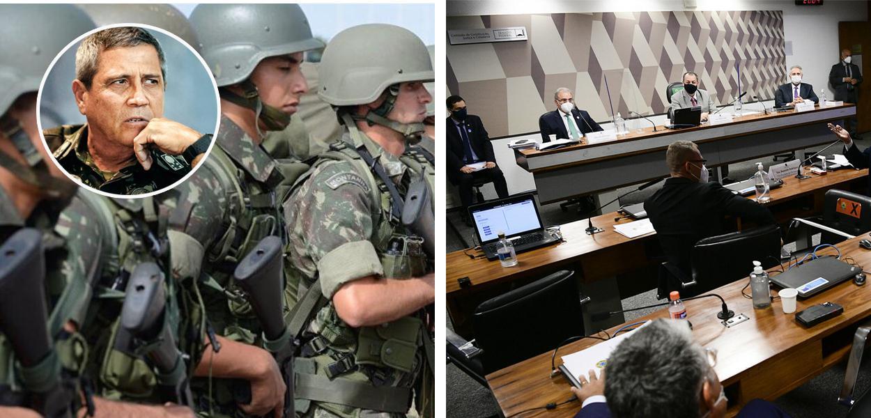 Ministro da Defesa, Braga Netto, Forças Armadas e a CPI da Covid
