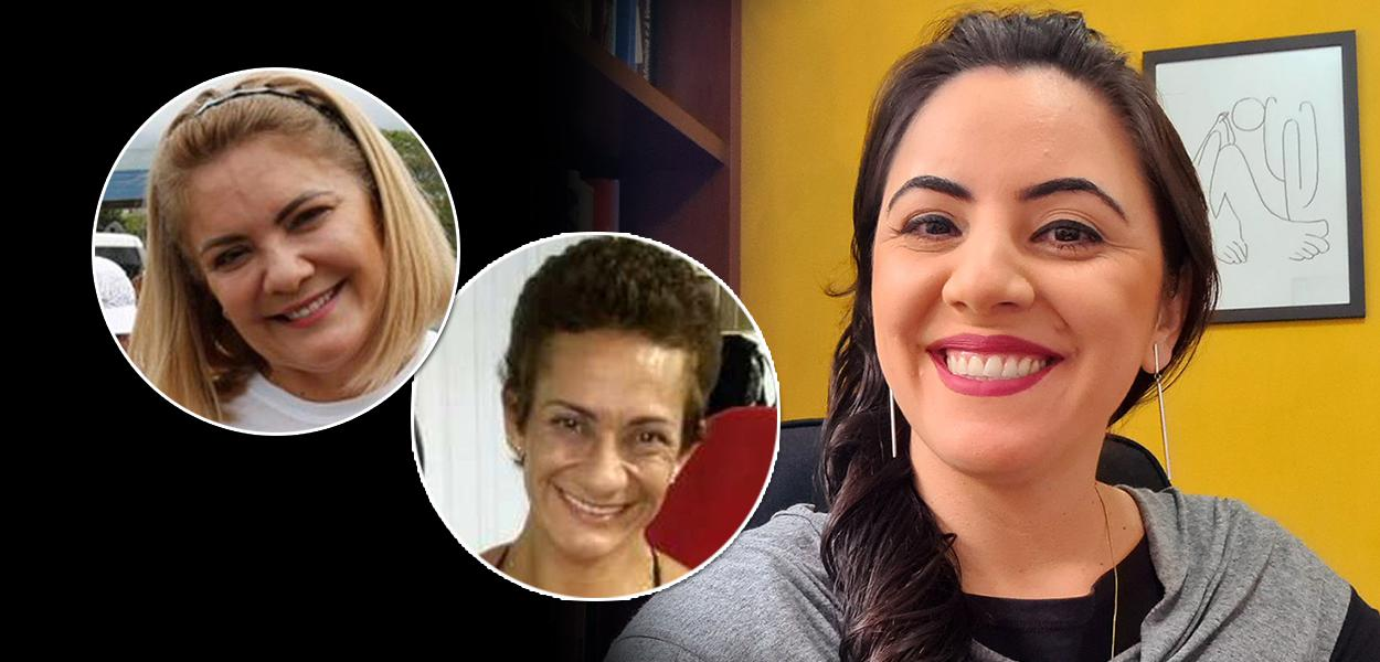 Ana Cristina Valle, Andrea Siqueira Valle e Juliana Dal Piva