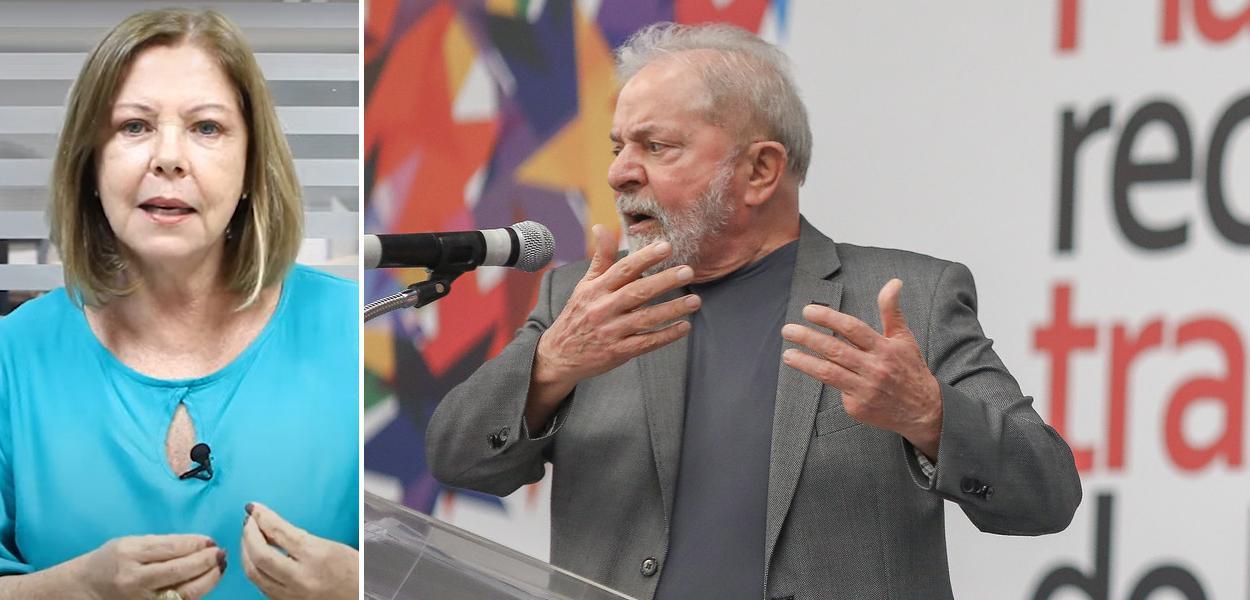 Eliane Cantanhêde e Lula