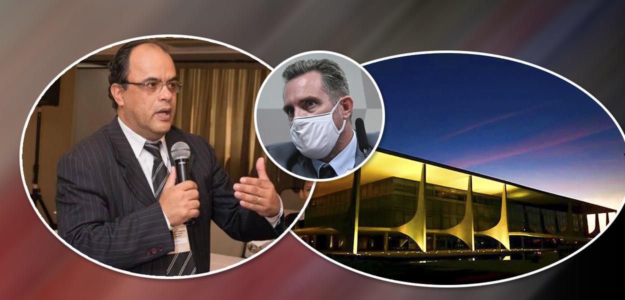 Reverendo Amilton Gomes de Paula, o cabo da PM Luiz Paulo Dominghetti e o Palácio do Planalto