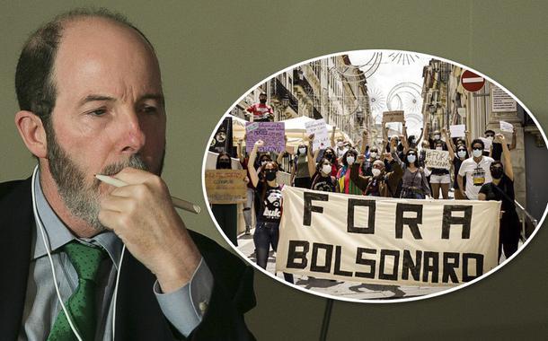 Armínio Fraga e manifestação contra Bolsonaro