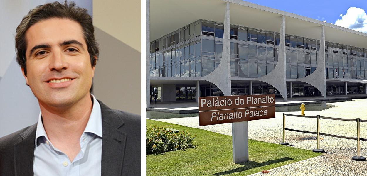 Jornalista Bernardo Mello Franco e o Palácio do Planalto
