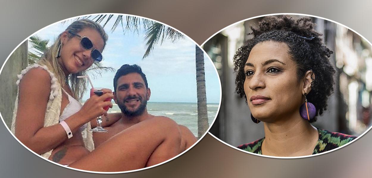Julia Mello Lotufo, Adriano da Nóbrega e Marielle Franco