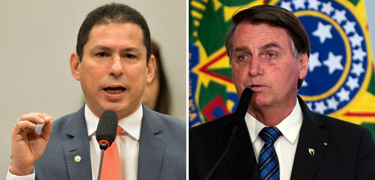 Marcelo Ramos e Jair Bolsonaro