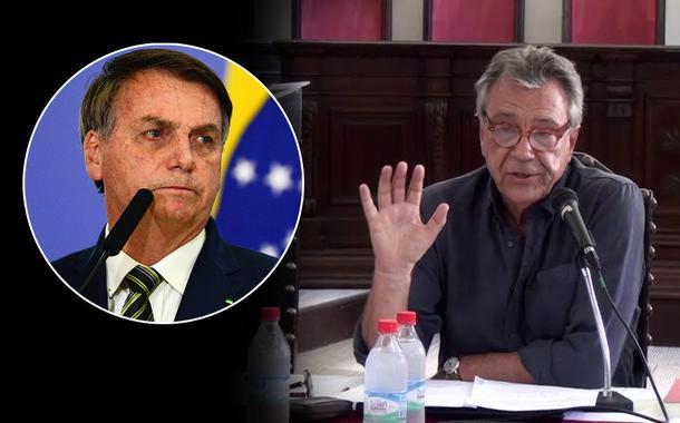 Jair Bolsonaro e José Luís Fiori
