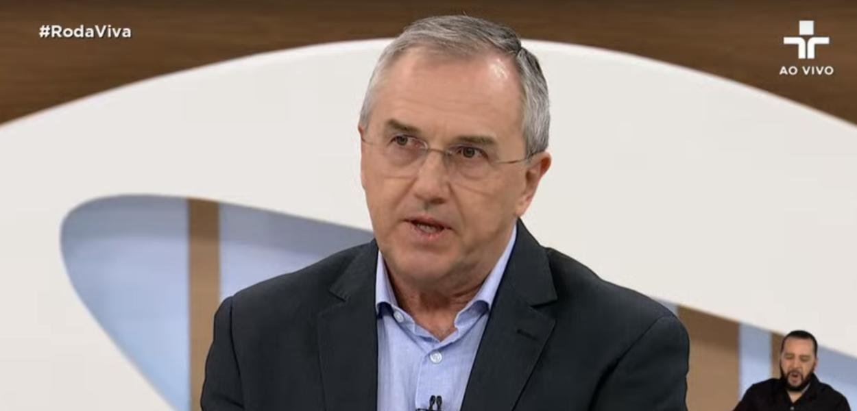 Jornalista Laurentino Gomes no Roda Viva
