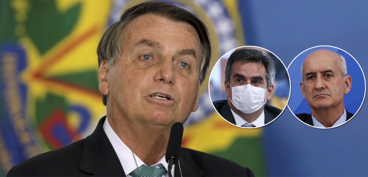 Bolsonaro, Ciro Nogueira e General Ramos