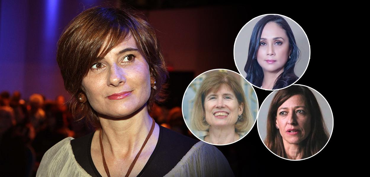 Jornalistas Eliane Brum, Adela Navarro Bello, Adriana Zehbrauskas e Mary Beth Sheridan