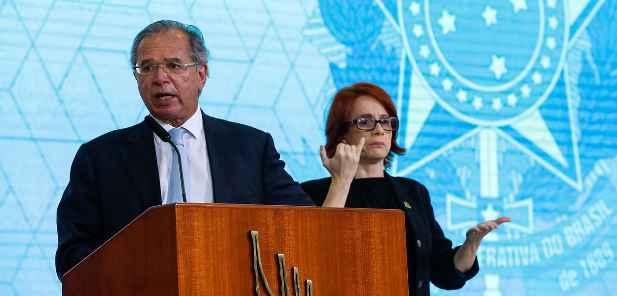 Palavras do Ministro da Economia, Paulo Guedes. 13/07/2021