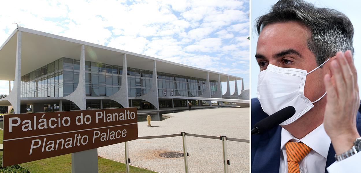 Palácio do Planalto e o senador Ciro Nogueira (PP-PI)