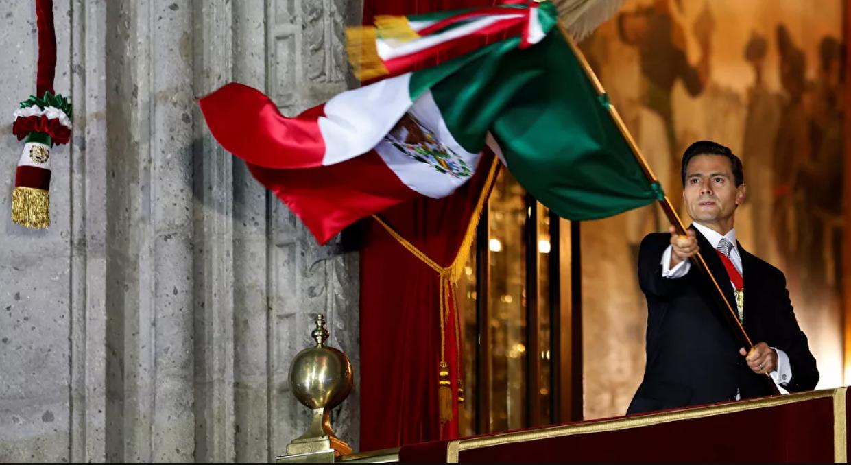 Ex-presidente do México Enrique Peña Nieto