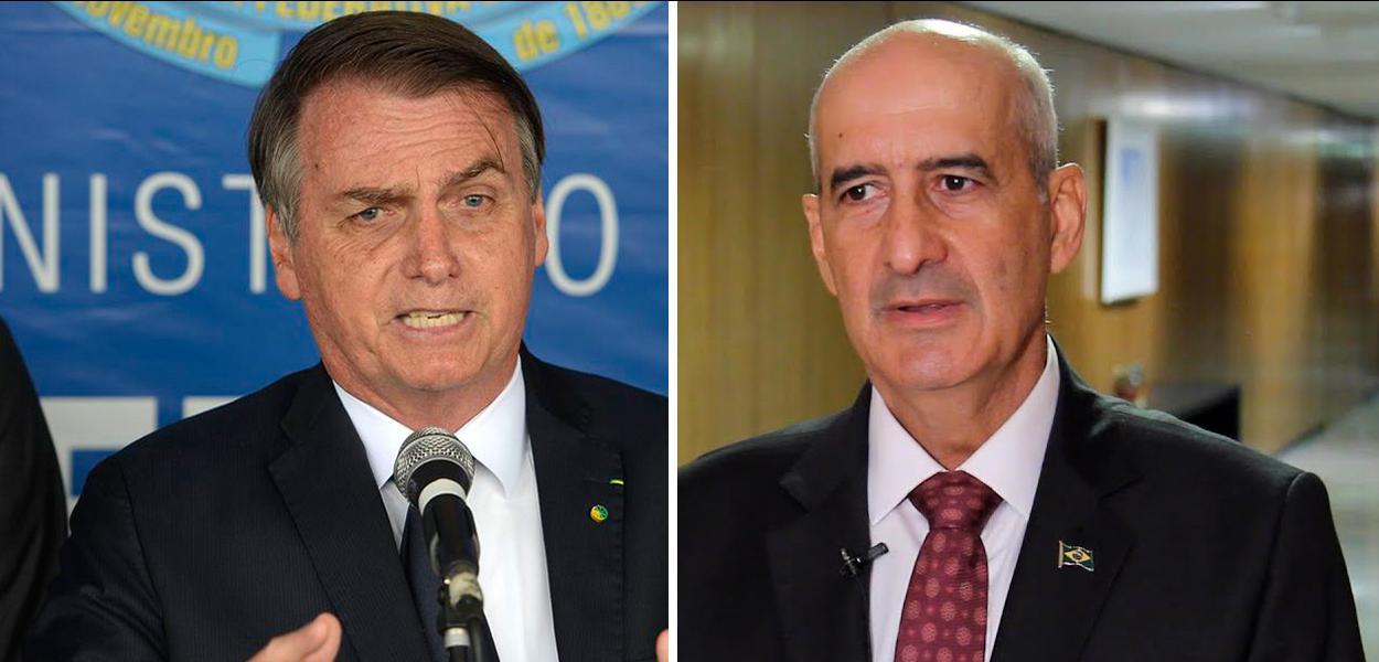 Jair Bolsonaro e General Luis Eduardo Ramos
