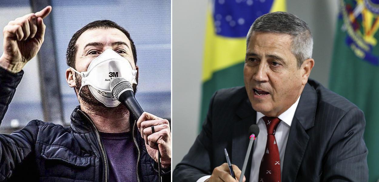 Juliano Medeiros e Braga Netto